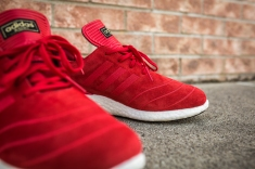 adidas Busenitz Pure Boost Red-14