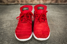 adidas Busenitz Pure Boost Red-4