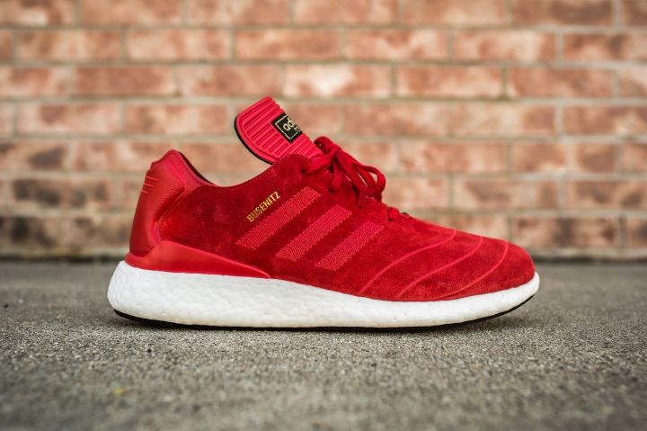 adidas Busenitz Pure Boost Red side