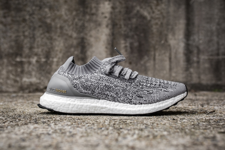 adidas Ultra Boost Uncaged Solid Grey side