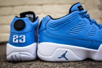 Air Jordan 9 Retro Low university blue-6