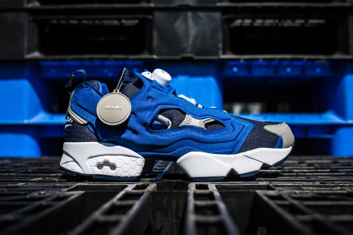 Beams x Reebok Pump Fury side