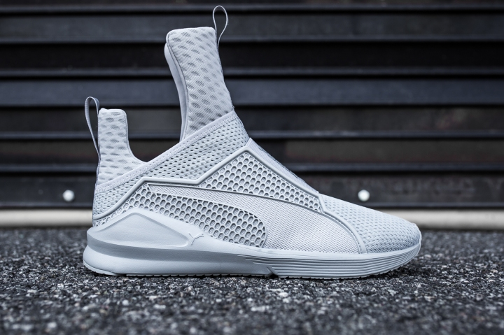 Rihanna x Puma Fenty Trainer Men quarry Side