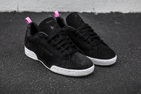 United Arrows x Reebok NPC AFF Black-Pink angle