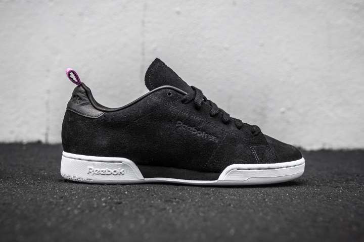 United Arrows x Reebok NPC AFF Black-Pink side