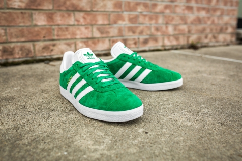 adidas Gazelle Green-White-10