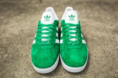adidas Gazelle Green-White-4