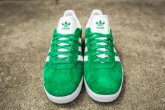 adidas Gazelle Green-White-4