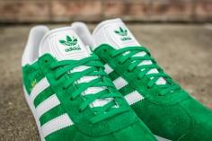 adidas Gazelle Green-White-6