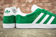 adidas Gazelle Green-White-7
