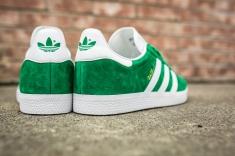 adidas Gazelle Green-White-8