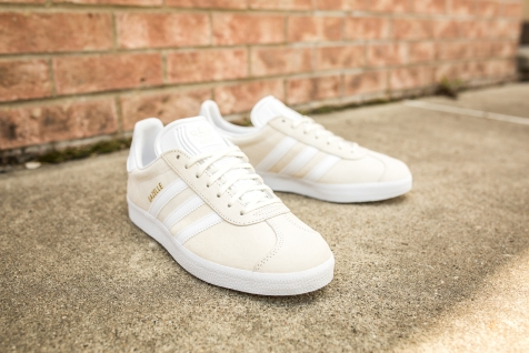 adidas Gazelle Off White-White-10