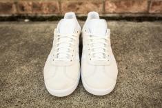adidas Gazelle Off White-White-4