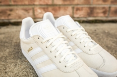 adidas Gazelle Off White-White-8