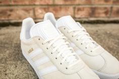adidas Gazelle Off White-White-8