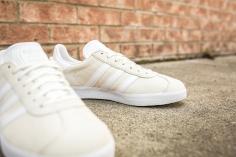 adidas Gazelle Off White-White-9