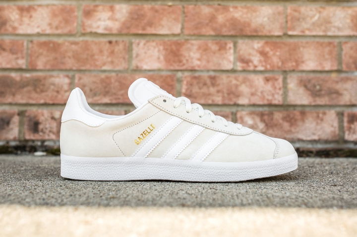 adidas Gazelle Off White-White side