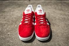 adidas Gazelle Scarlet-White-4