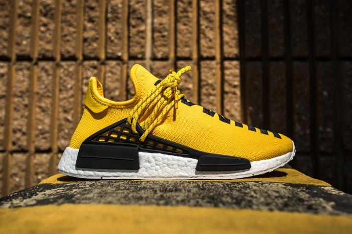 adidas PW Human Race NMD Yellow-Black side