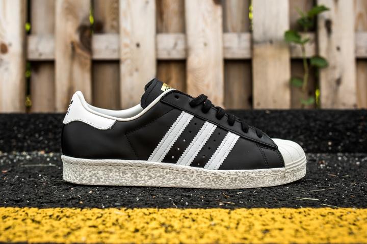 adidas Superstar 80 Black-White-Chalk side