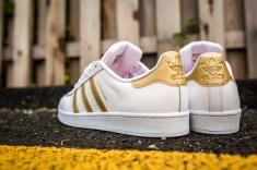 adidas Superstar White-Gold-11