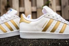adidas Superstar White-Gold-9