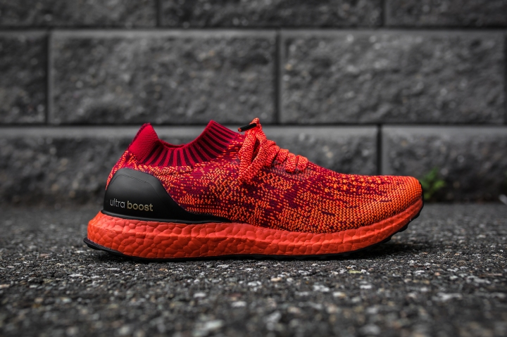 adidas Ultra Boost Uncaged LTD red side