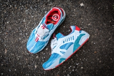Limited Edition x Puma Disc Blaze Cyan Blue-16