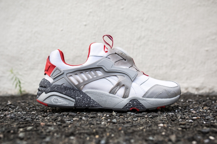 Limited Edition x Puma Disc Blaze Puma Silver side