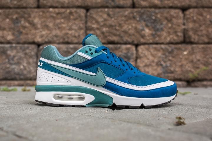Nike Air Max BW Marina-Grey Jade side