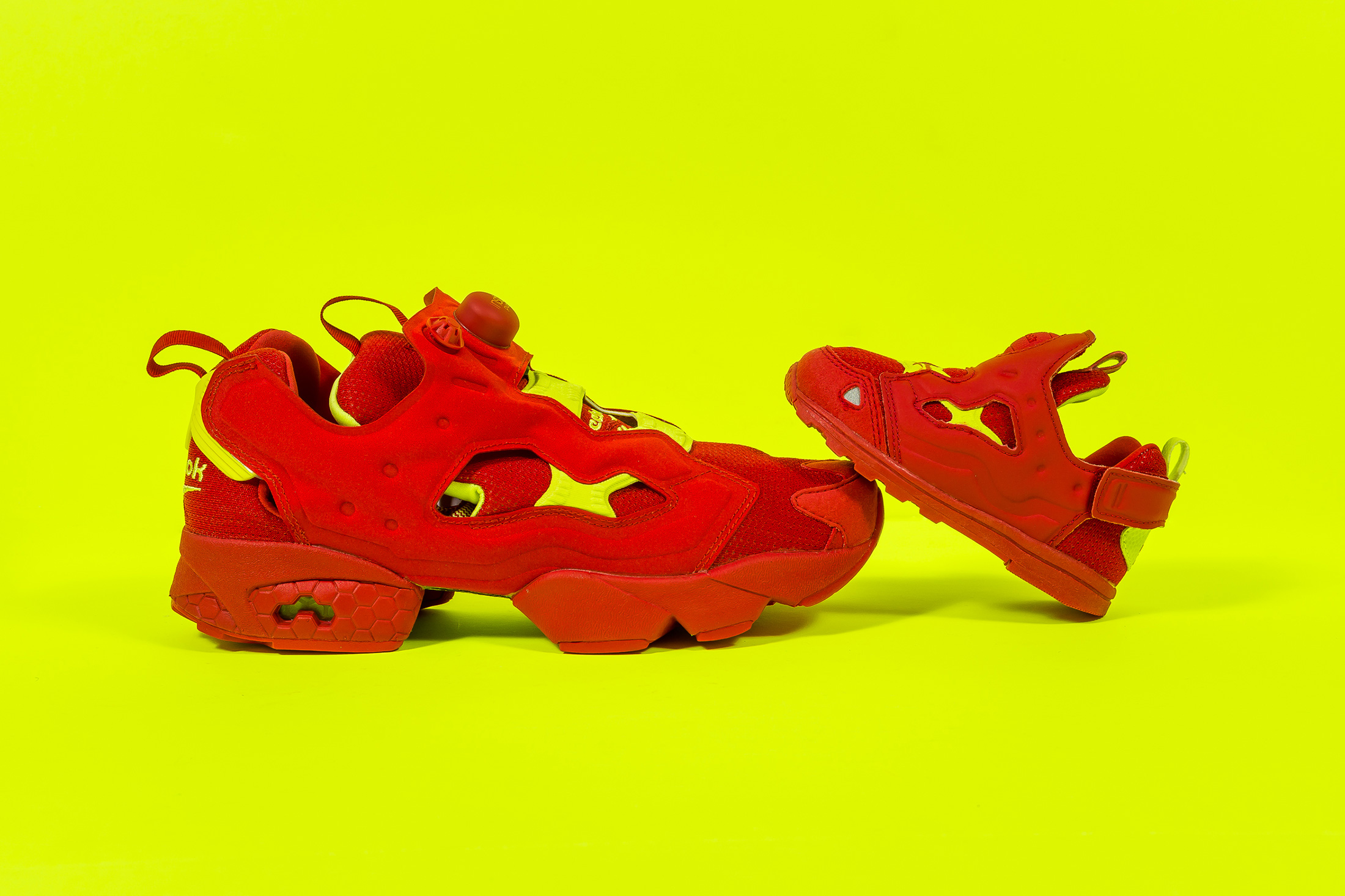reebok pump fury kids