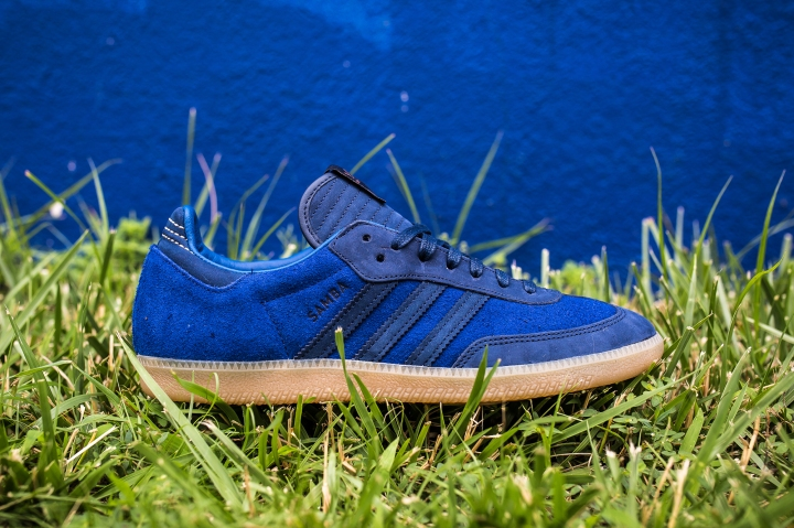 Starcow x adidas Navy-Blue side