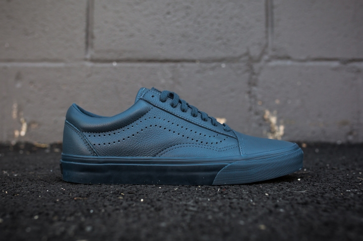 Vans Old Skool Reissue Midnight Navy side