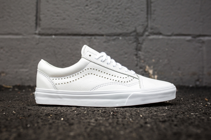 Vans Old Skool Reissue White side