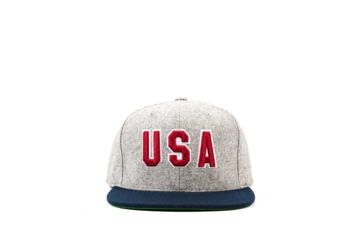 1 Packer 'GameSetMatch' Apparel Arthur Ashe Snap Back front