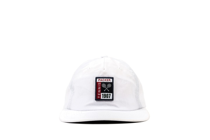 13 Packer 'GameSetMatch' Apparel White Tennis Cap front