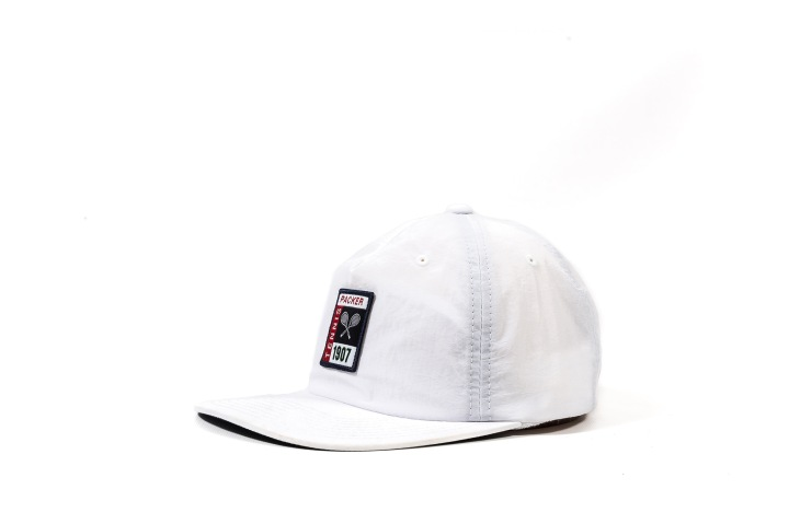 14 Packer 'GameSetMatch' Apparel White Tennis Cap angle