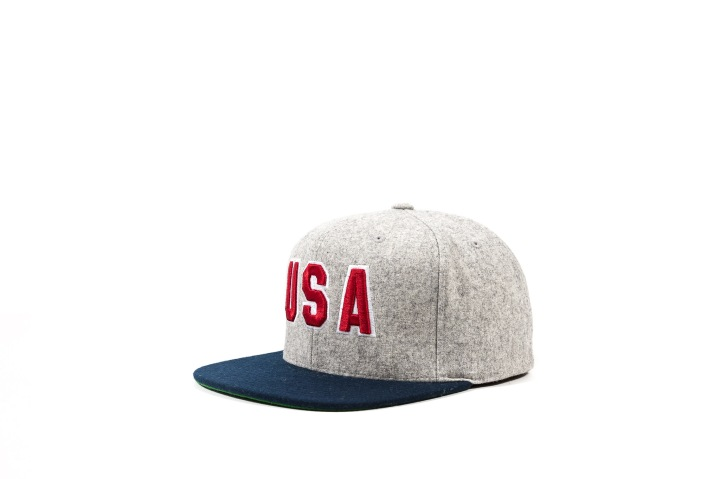 2 Packer 'GameSetMatch' Apparel Arthur Ashe Snap Back angle