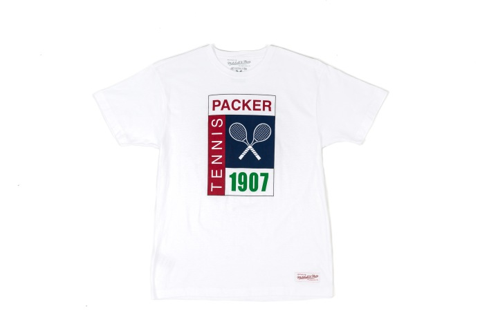 29 Packer 'GameSetMatch' Apparel LogoTee White Front