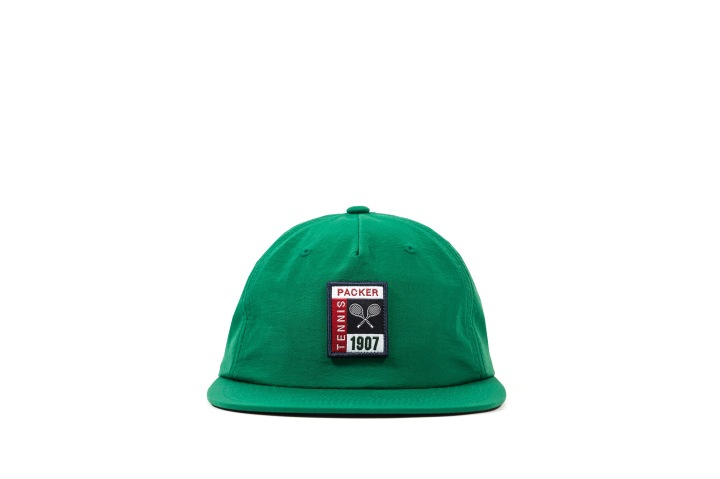 5 Packer 'GameSetMatch' Apparel Green Tennis Cap front