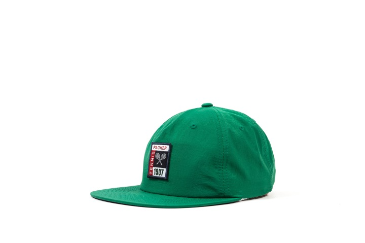6 Packer 'GameSetMatch' Apparel Green Tennis Cap angle