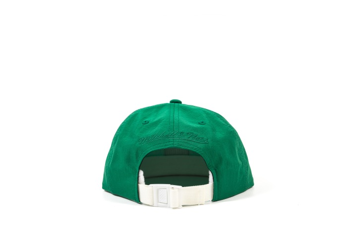 7 Packer 'GameSetMatch' Apparel Green Tennis Cap back