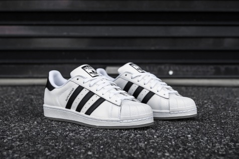 adidas Superstar White-Black-Ice angle