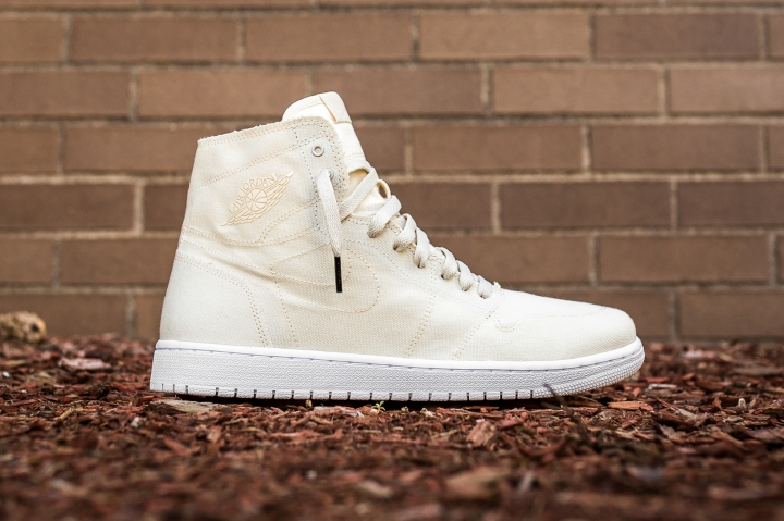 Air Jordan 1 Retro High Decon Natural-Natural White side