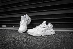Nike Air Huarache White-White-11