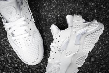 Nike Air Huarache White-White-12