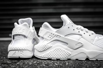 Nike Air Huarache White-White-7