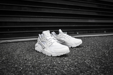 Nike Air Huarache White-White-9