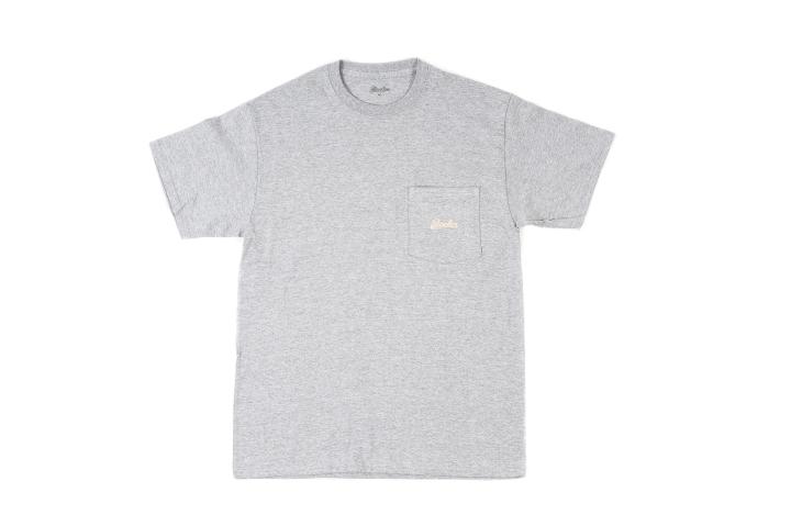 Packer Pocket Logo T Shirt Grey-Tan front