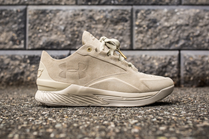 Under Armour Curry 1 Low Suede Desert side